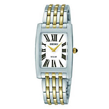 Seiko Ladies' White Dial Two Tone Bracelet Watch - Product number 2905795