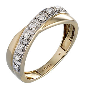9ct Gold Diamond Ring - Product number 2906821