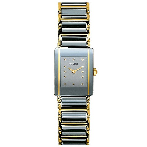 Rado Integral ladies' two-colour bracelet watch