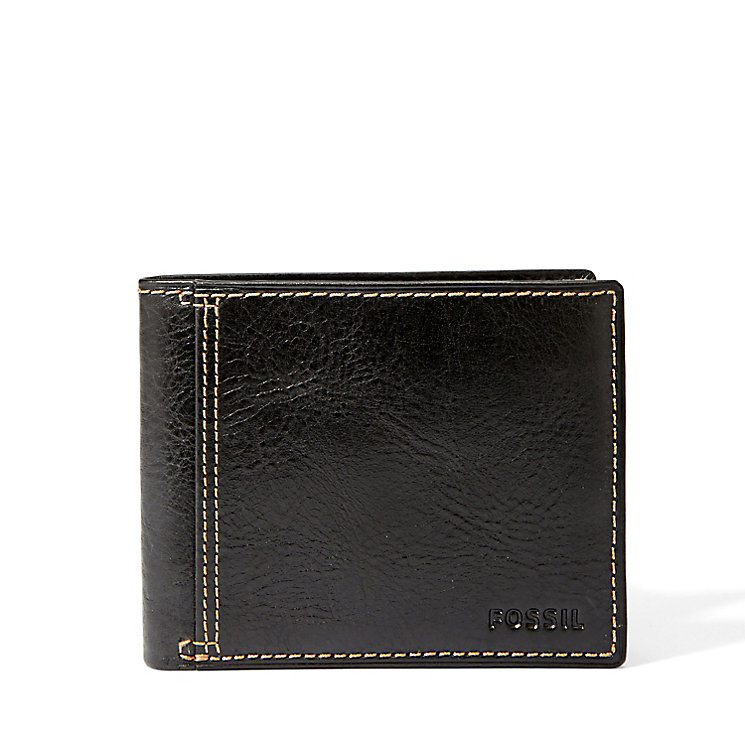 Fossil Bradley black leather bifold wallet - Product number 2908328