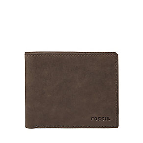 Fossil Ingram brown leather bifold  wallet - Product number 2908492