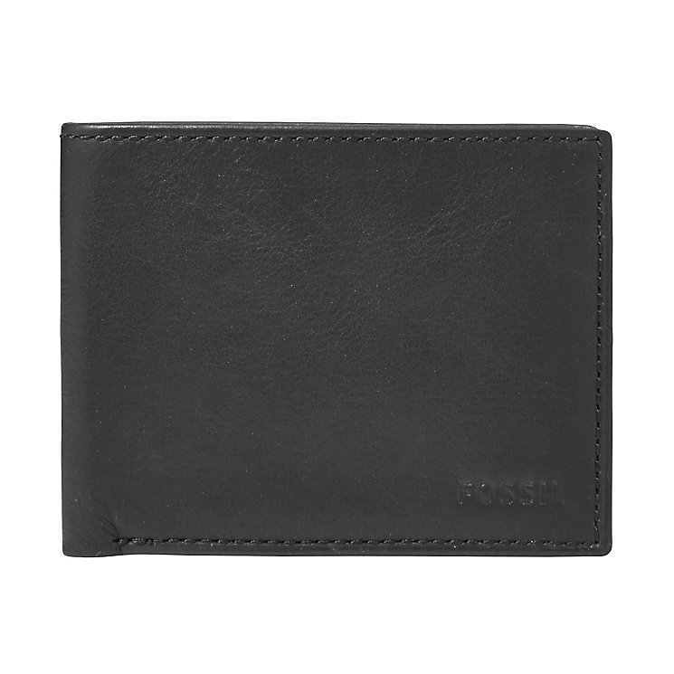 Fossil Ingram black bifold wallet - Product number 2908735