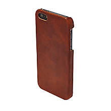Fossil cognac leather iPhone 5 case - Product number 2909162
