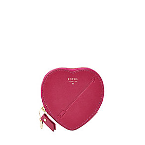 Fossil Heart ladies' fuchsia coin purse - Product number 2909294