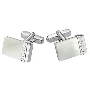 Ted Baker Shell white cufflinks - Product number 2916800