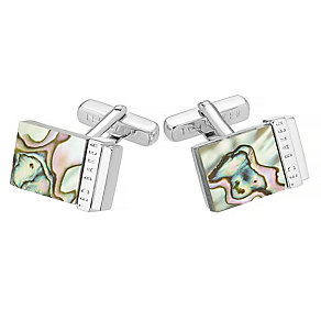 Ted Baker Shell green cufflinks - Product number 2916819