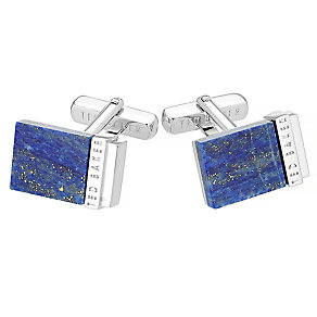 Ted Baker men's blue shell cufflinks - Product number 2916827
