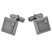 Ted Baker Contrast gunmetal square cufflinks - Product number 2916835
