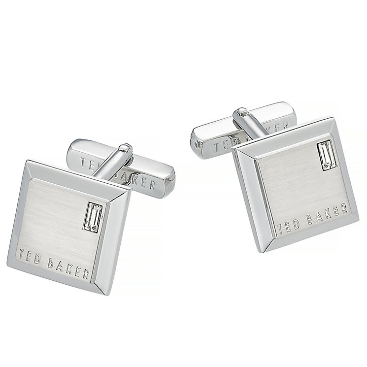 Ted Baker Contrast grey square cufflinks - Product number 2916843