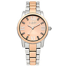 Lipsy Ladies' Silver & Rose Gold Tone Bracelet Watch - Product number 2917270