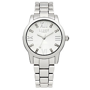Lipsy Ladies' Crystal Set Silver Tone Bracelet Watch - Product number 2917300
