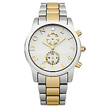 Lipsy Ladies' Silver & Yellow Gold Tone Bracelet Watch - Product number 2917572
