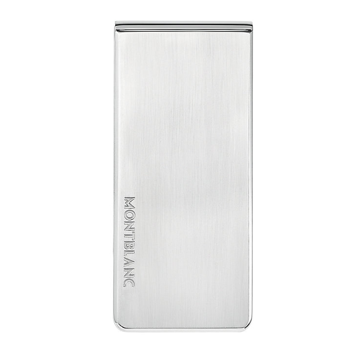 Montblanc stainless steel money clip - Product number 2918420