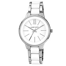Anne Klein Ladies' White Dial Two Colour Bracelet Watch - Product number 2919915