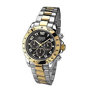 Accurist Men's Chronograph Stainless Steel Bracelet Watch - Product number 2920263