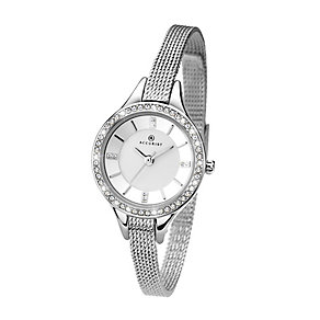 Accurist Ladies' Stainless Steel Mesh Strap Watch - Product number 2920700