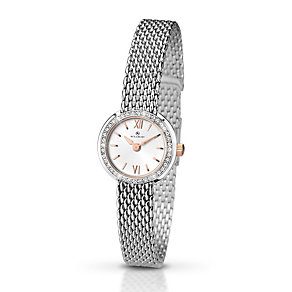 Accurist Ladies' Stone Set Stainless Steel Bracelet Watch - Product number 2921855