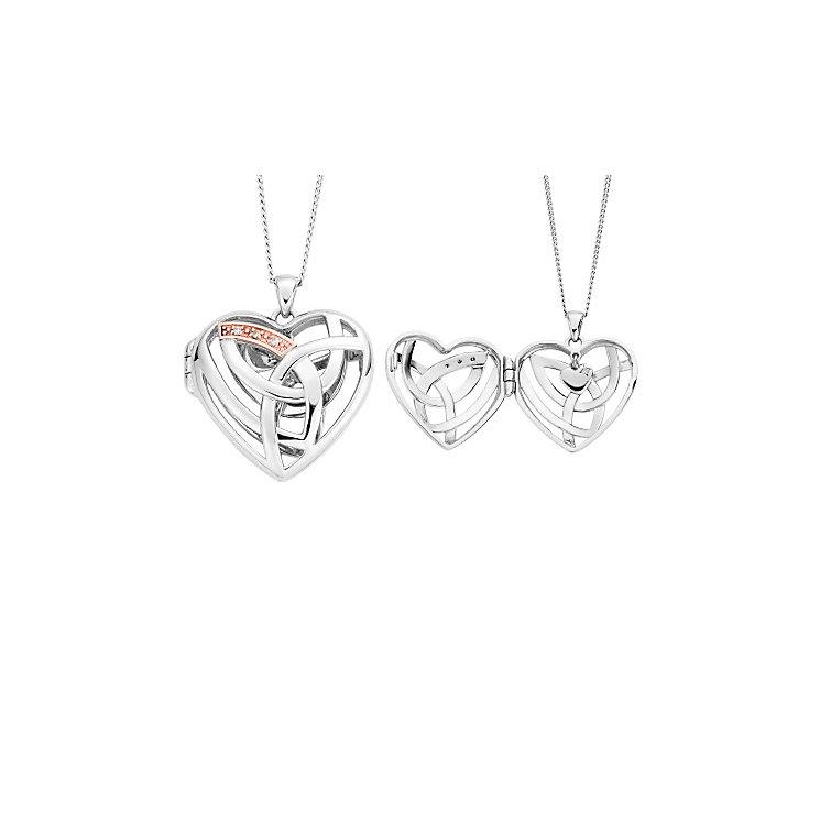 Clogau Eternal Love Diamond Heart Locket - Product number 2924293