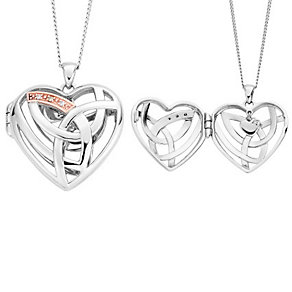 Clogau Eternal Love Diamond Heart Locket - Product number 2924293