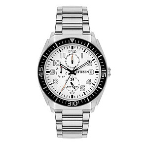 Citizen Eco Drive Men's Stainless Steel Chronograph Watch - Product number 2924455