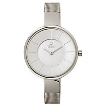 Obaku Ladies' Silver Tone Mesh Bracelet Watch - Product number 2925125