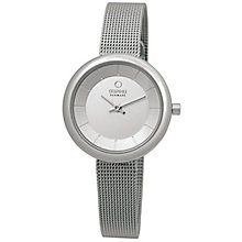 Obaku Ladies' Silver Tone Mesh Bracelet Watch - Product number 2925168