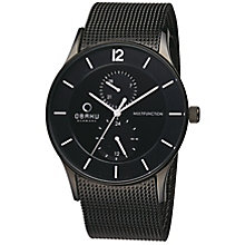 Obaku Men's Black Mesh Bracelet Watch - Product number 2925869
