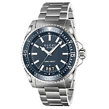 Gucci Dive 45 men's stainless steel bracelet watch - Product number 2925907