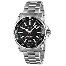 Gucci Dive 40 men's stainless steel bracelet watch - Product number 2925990