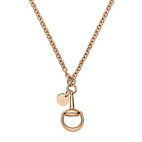 Gucci Horsebit 18ct rose gold necklace - Product number 2926547