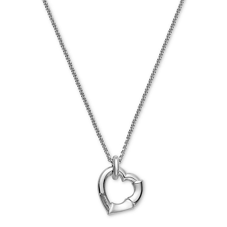 Gucci Sterling Silver bamboo heart necklace - Product number 2926571