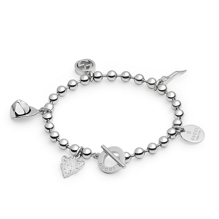 Gucci Boule sterling silver charm bracelet - Product number 2926709