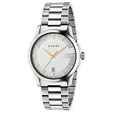 Gucci G-Timeless men's stainless steel bracelet watch - Product number 2926857