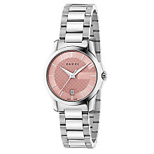 Gucci G-Timeless ladies' stainless steel bracelet watch - Product number 2926873