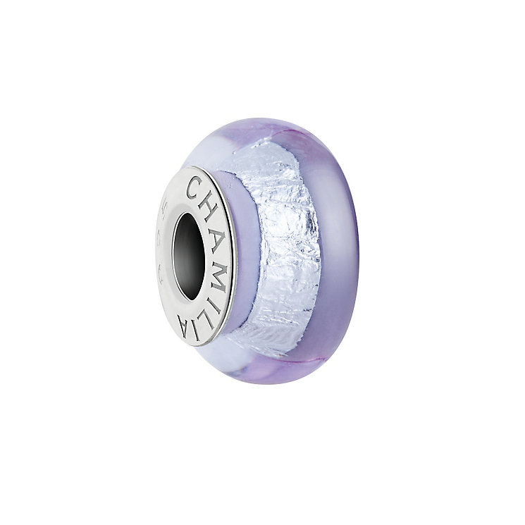 Chamilia Silver Shade light purple Murano glass bead - Product number 2930838