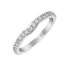 Neil Lane 14ct white gold 35pt diamond shaped band - Product number 2934663
