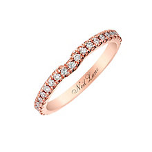 Neil Lane 14ct rose gold 20pt diamond shaped band - Product number 2935740