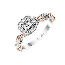 Neil Lane 14ct white and rose gold 0.53ct diamond ring - Product number 2935880
