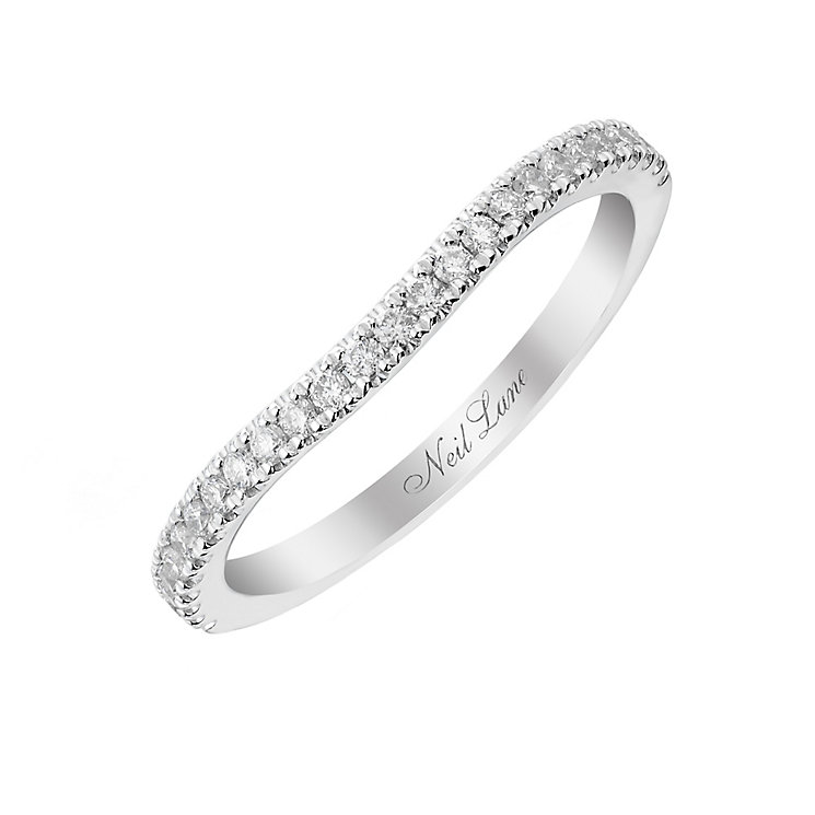 Neil Lane 14ct white gold 20pt diamond shaped band - Product number 2936151