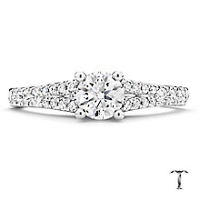 Tolkowsky 18ct White Gold 75pt Diamond Solitaire Ring - Product number 2937484