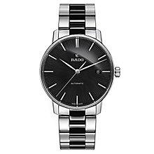 Rado men's stainless steel and black ceramic bracelet watch - Product number 2944057