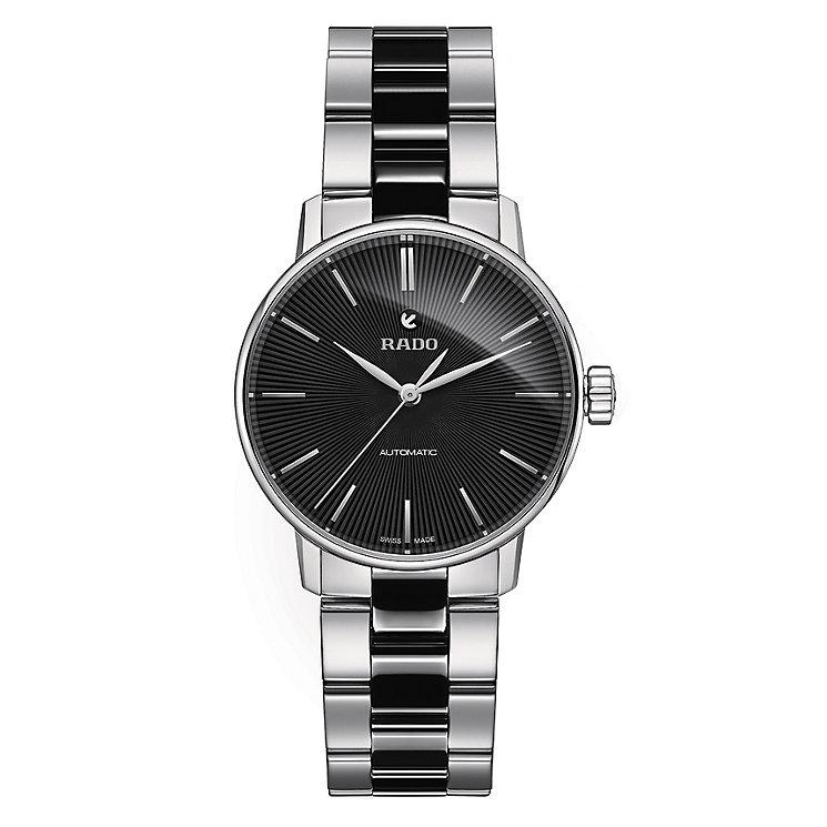 Rado ladies' stainless steel black ceramic bracelet watch - Product number 2944065