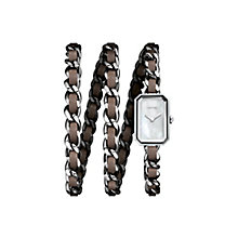 Chanel Premiere ladies' stainless steel bracelet watch - Product number 2945355
