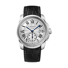 Cartier Calibre Men's stainless steel bracelet watch - Product number 2949075