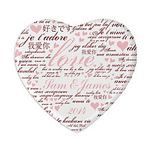 Personalised I Love Heart Coaster - Product number 2949830