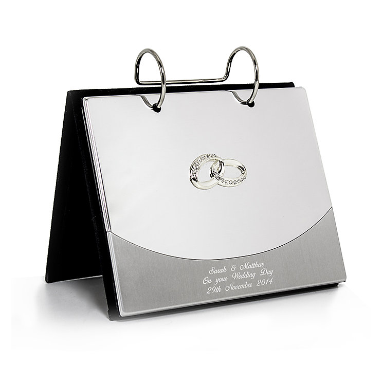 Engraved Wedding Rings 6x4 Photo Album - Product number 2949962