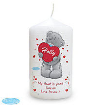 Personalised Me to You Big Heart Candle - Product number 2950065