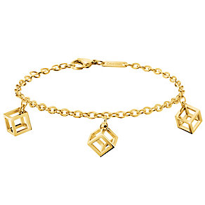 Calvin Klein Daring gold-plated charm bracelet - Product number 2951088