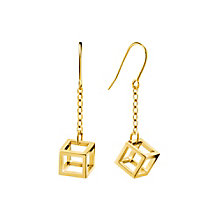 Calvin Klein Daring gold-plated drop earrings - Product number 2951096