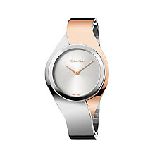 Calvin Klein Senses ladies' two colour bracelet watch - Product number 2951134